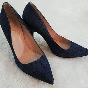 Kate Spade Sz 7.5 Denim heels.